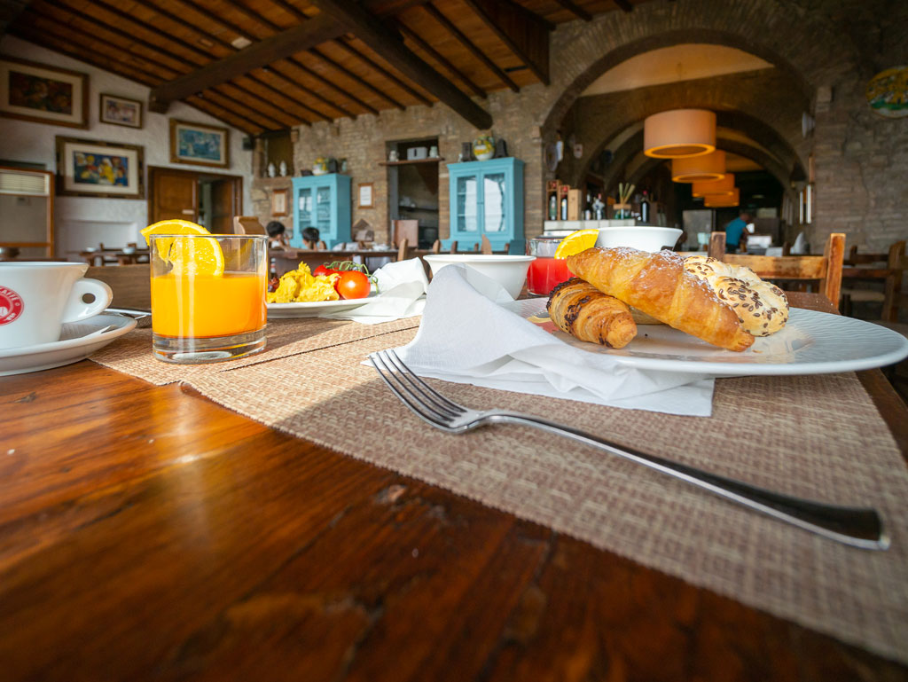 Frühstück - Hotel Belsoggiorno